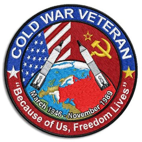 cold war veterans seek recognition for their service cold war veteran patch posters and poster art pinterest