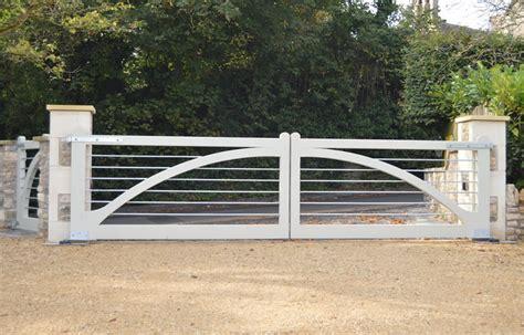 white wooden gate winchester hardwood driveway gate white bg wooden gates