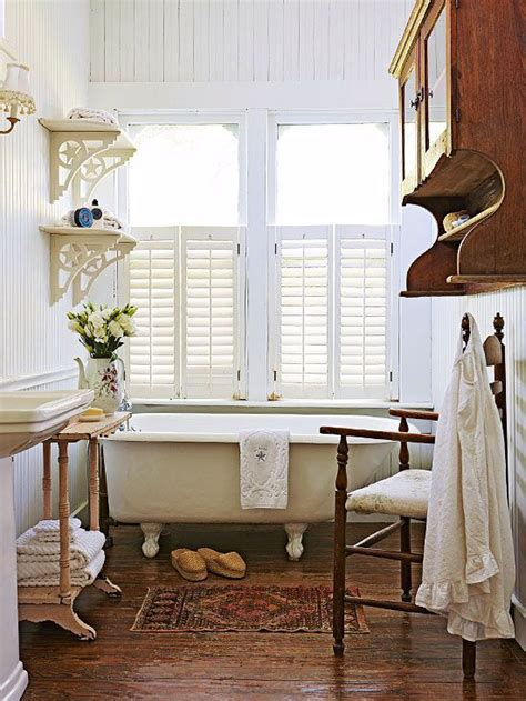 country cottage bathroom ideas bead board walls cottage