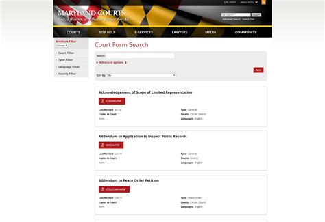 Site Courts State Md Us Maryland Judiciary Search Judiciary S Redesigned Website To Launch Maryland Courts