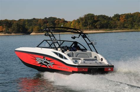ski boat vs tritoon starcraft 220 scx io sport pontoon deck boat magazine