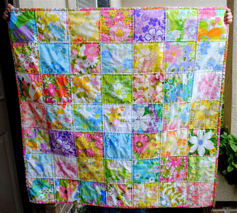 Just Patchwork - hideaway o vintage sheet quilts