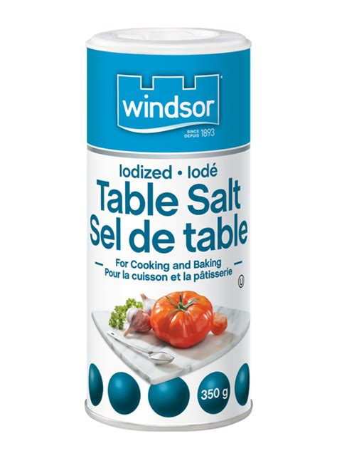is table salt iodized iodized table salt for cooking baking salt