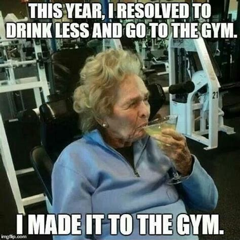 New Years Gym Meme - new year s laughs kid 101