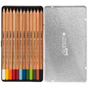 Lyra Rembrandt Design 12 Pcs lyra rembrandt aquarell pencils 12 pack officeworks