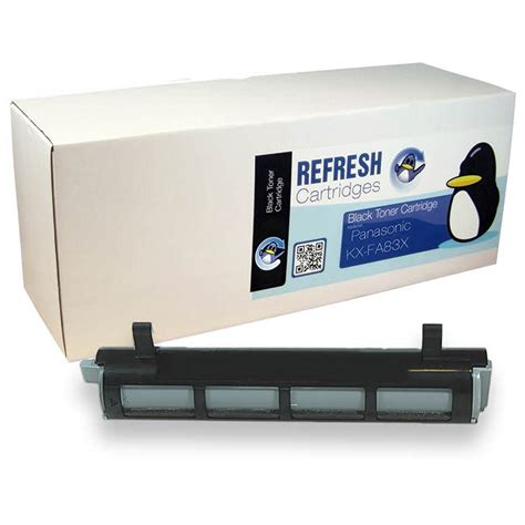 Remanufactured Catridge Panasonic Kx Fat421e remanufactured panasonic kx fa83x toner cartridges