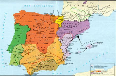la espana de los 8420635308 historia de espa 209 a 2 186 bachillerato tema 3 los reinos cristianos de la reconquista