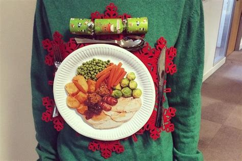10 diy christmas jumper ideas from pinterest liverpool echo