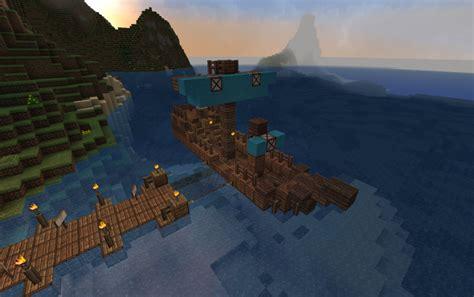 minecraft small viking boat small ship creation 834