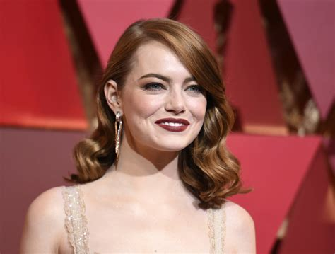 emma stone king emma stone says male co stars have helped her get equal