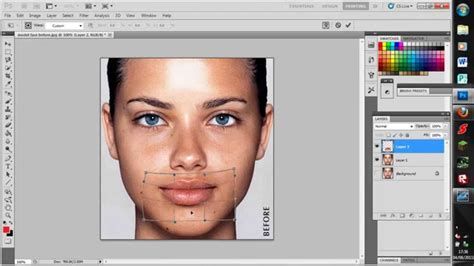 tutorial edit foto model photoshop photoshop tutorial make someone look like they are smiling