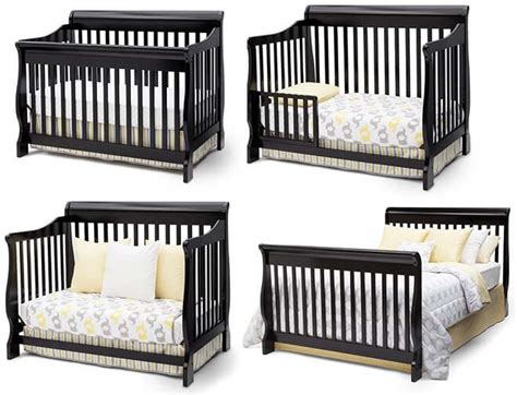 convertible crib grow your baby with delta children canton 4 in 1