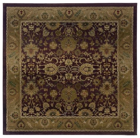 8 square area rug traditional generations square 8 square purple gold area rug traditional area rugs by rugpal