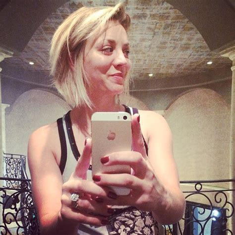 why did kaley christine cuoco sweeting cut hair kaley cuoco hairstyles hair world magazine