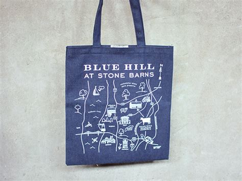 Blue Hill At Stone Barns Gift Card - denim maptote blue hill exclusive blue hill market