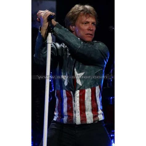 bon jovi concert videos jon bon jovi concert american leather jacket
