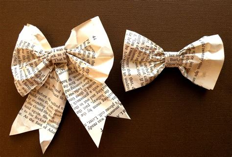 Paper Bows - how to make a paper bow with template chandlercreations