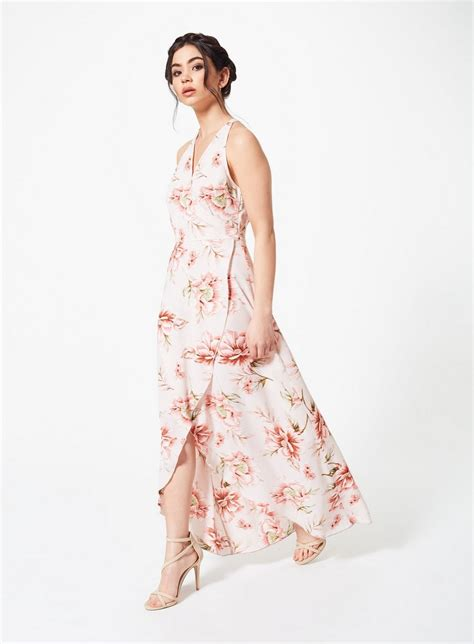 Maxi Dress Miss Andin floral wrap maxi dress maxi dresses dress shop