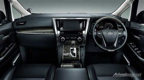 Lexus Interior Dashboard Toyota Vellfire 2015 Autonetmagz