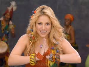 Shakira s waka waka crosses one billion views on youtube ndtv movies