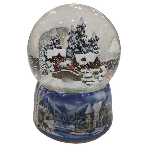 gifts kingdom winter scene snow globe snow globes
