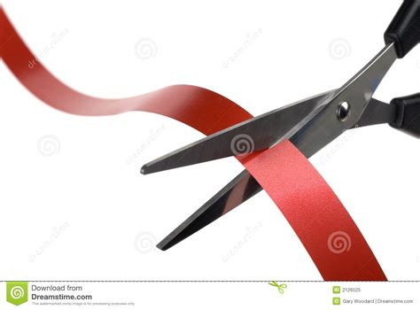 cortar imagenes cortar la cinta roja foto de archivo libre de regal 237 as