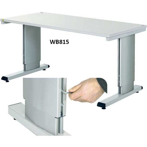 height adjustable bench wb allen key height adjustable cantilever bench ese direct