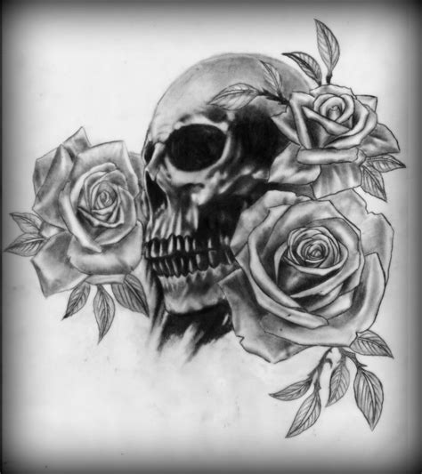 eletragesi black roses and skulls images