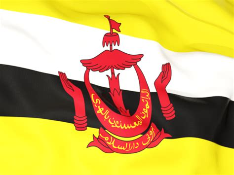 icon design brunei flag background illustration of flag of brunei
