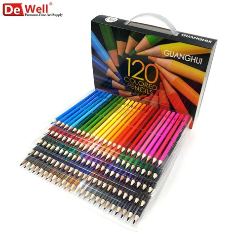 what colored pencils are best for coloring books professional wooden 120 136 colour pencils set lapis de