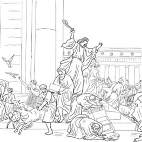 jesus preaching in the temple coloring page pinterest jesus in the temple coloring page coloring pages