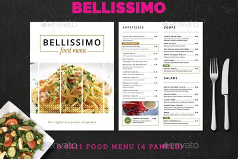 Menu Card Template Photoshop by 68 Menu Card Templates Free Psd Word Illustrator Designs