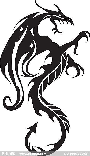 2014龙形图案标志霸气的龙形标志 龙形标志图片