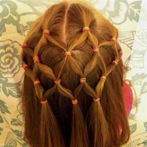 hairdos with a hair net 14 cute and lovely hairstyles for little girls woman