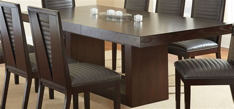 antonio extendable rectangular dining table from steve