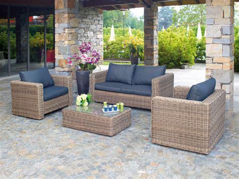 salotti da giardino offerte salotti da giardino divani per esterno effea brescia