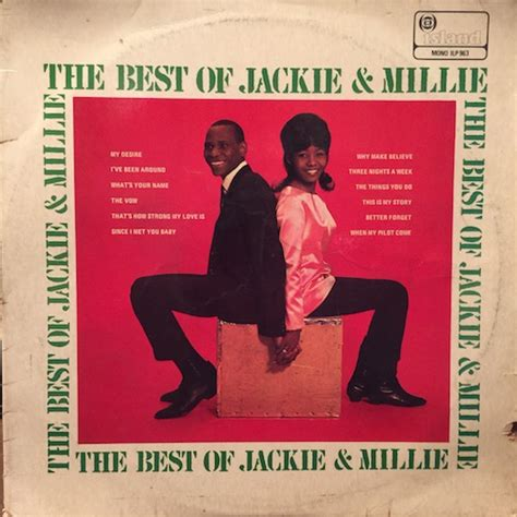 why do i millie books jackie millie the best of jackie millie グリーロレコード