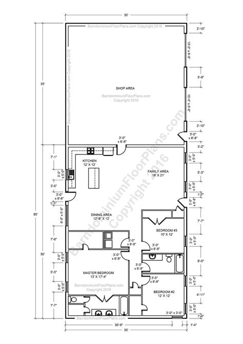 metal barn house floor plans best 25 30x40 pole barn ideas on 30x40 house