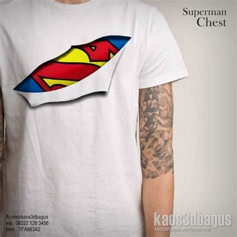 Kaos Supermen Is Dead Cotton Combed 24s Tshirt kaos superman kaos logo superman kaos 3d kaos