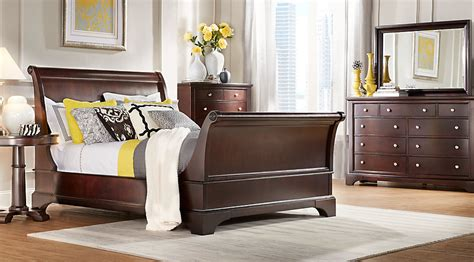 8 King Bedroom Set by Whitmore Cherry 8 Pc King Sleigh Bedroom King Bedroom