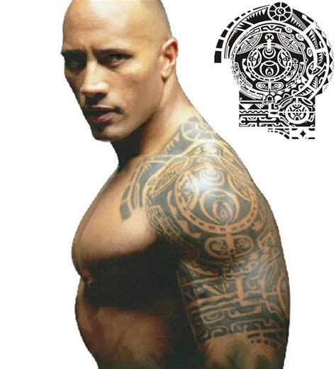Dwayne Johnson Tattoo Unterarm | dwayne johnson 2017 haircut beard eyes weight