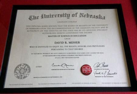 Of Nebraska Kearney Mba Program by David R Messer Education