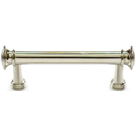 polished nickel cabinet pulls shop allen roth 3 in center to center polished nickel