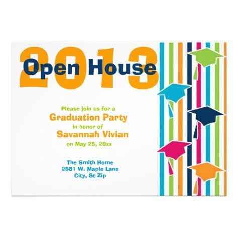 graduation open house invitation templates graduation open house invitations 5 quot x 7 quot invitation