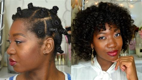 heatless hairstyles for wet hair heatless curls overnight bantu knot out on wet hair feat