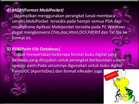 5 Format Buku Digital | pengertian fungsi dan format buku digital