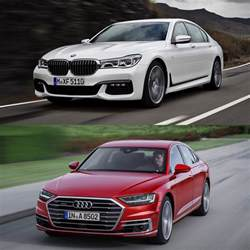 Audi A8 Vs Bmw 750 Photo Comparison Bmw 7 Series Vs 2018 Audi A8