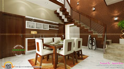 dining room interiors cochin interior design kerala home design and floor plans