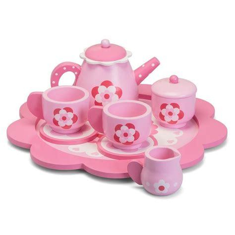 Tea Set Princes princess tin tea set carry play ebay