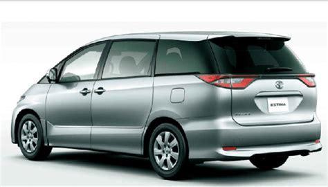 toyota estima minivan review price release date
